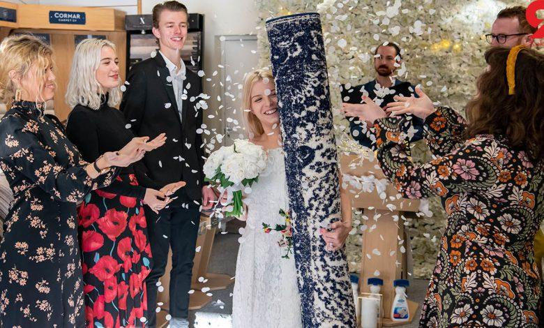 ازدواج با فرش