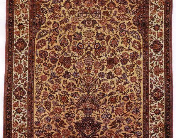 قالی گلدانی