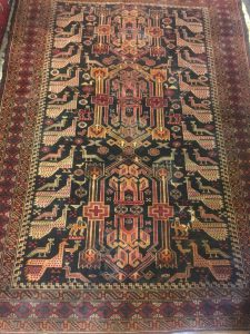 قالیچه طاووسی